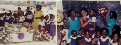 2004.4th Birthday my son had in school when I sent him for Kindergarten to my little rest from domestic violence (but in that area my ex built house for one of girlfriend who my mom and I met in 1999 in doctors bungalow-she sold stolen goods for abortions,he paid for university,bought vehicle,sent her for abroad-for vacations) We had more problems,more threats
